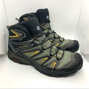 Salomon Men's X Ultra 3 Mid GTX Hiking Boots Sz 14